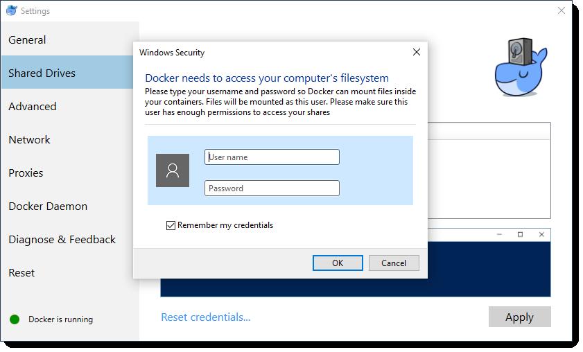 Docker for Windows: Sharing Host Volumes - Will Anderson